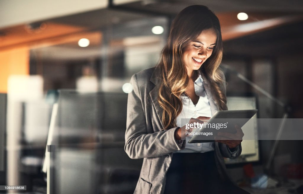 Beat the deadline with technology : Stock Photo