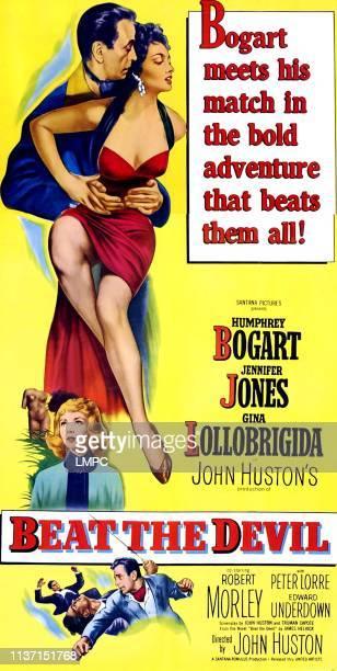 Humphrey Bogart Gina Lollobrigida bottom Jennifer Jones bottom Humphrey Bogart 1953