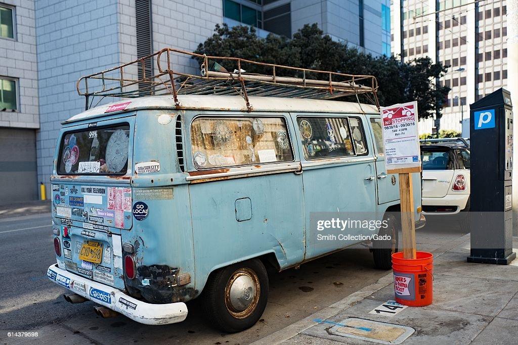 Volkswagen Bus : News Photo