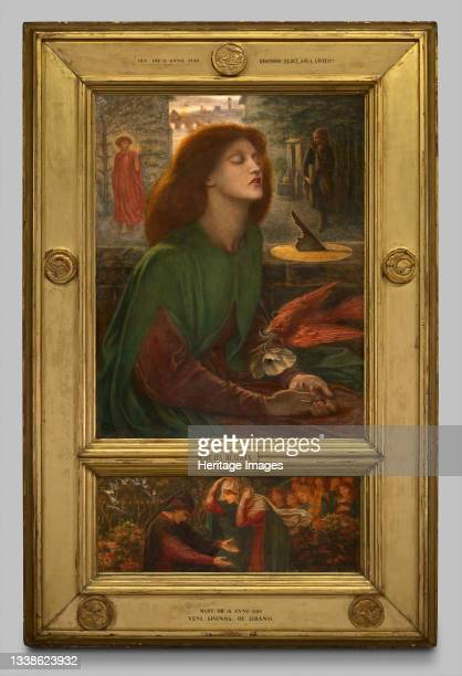 Beata Beatrix, 1871/72. Artist Dante Gabriel Rossetti.