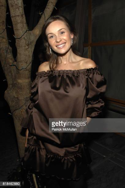 Beata Bohman attends Shanghai Tang and Solerno's Premiere of Fay Ann Lee's Falling For Grace at Asia Society on January 26 2010 in New York City