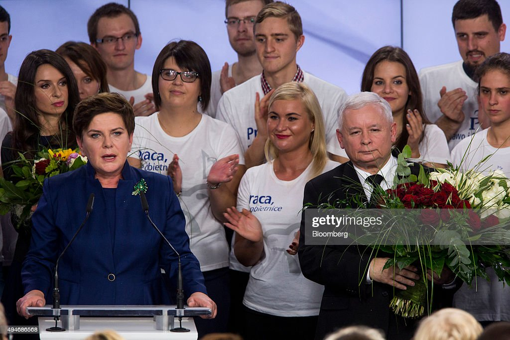 Polish General Election : News Photo