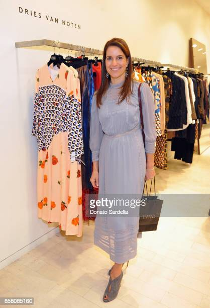 Beate Chee attends a Cocktail Event in support of HOLA Heart of Los Angeles hosted by Barneys New York at Barneys New York Beverly Hills on October 5...