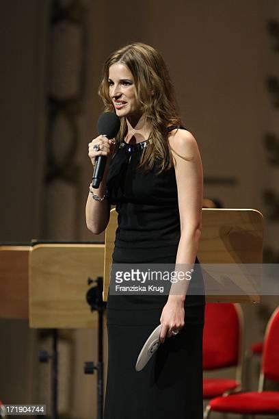 Beate Igel Beim Gala Konzert Prix Montblanc 2008 In Der Komischen Oper Berlin Am 091008