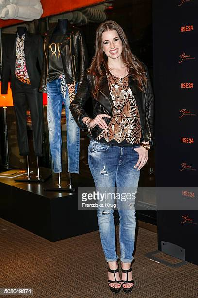 Beate Igel during the launch dinner of his new collection 'Brian by Brian Rennie' for HSE24 on February 2 2016 in Munich Germany The collection will...