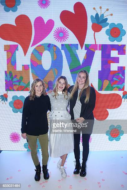 Beate Klever Amelie Klever and Maren Klever attend the Thomas Rath after party during Platform Fashion January 2017 at Areal Boehler on January 29...