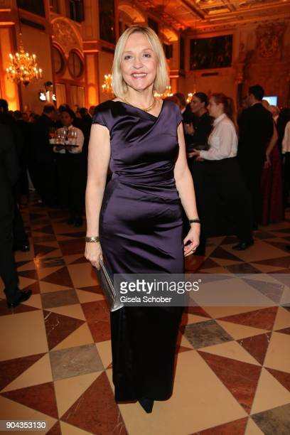 Beate Merk during the new year reception of the Bavarian state government at Residenz on January 12 2018 in Munich Germany