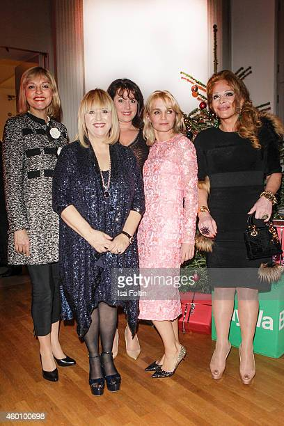 Beate Merk Patricia Riekel Ruth Neri Claudia GuggerBessinger and Ulrike Huebner attend the Passauer Runde Hosts Christmas Charity on December 05 2014...