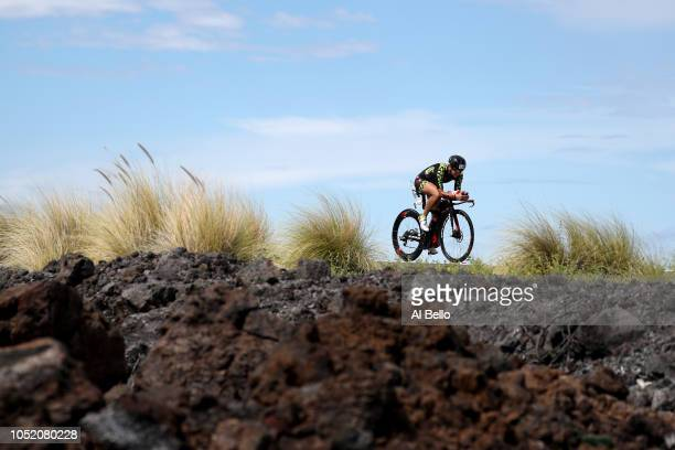 Beate Van LooBorn competes during the IRONMAN World Championships brought to you by Amazon on October 13 2018 in Kailua Kona Hawaii