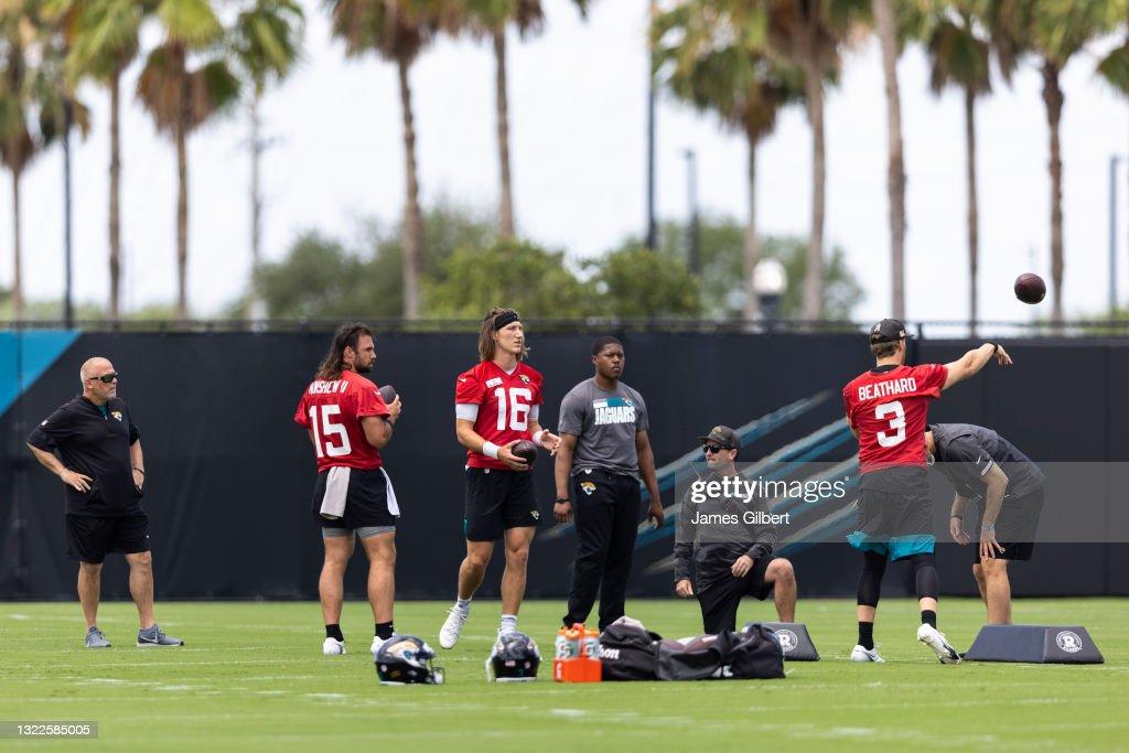 Jacksonville Jaguars Off-Season Workout : News Photo
