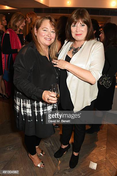 Beatie Edney and Lisa Makin attend the Voice Of A Woman Awards at the Belgraves Hotel on October 4 2015 in London England