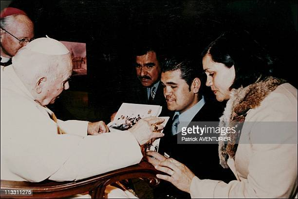 Beatification Of John Paul II The Mexican Miracle Which Could Contribute To Make Him A Saint On May 2005 In Roma Italy Here Heron And His Father Were...