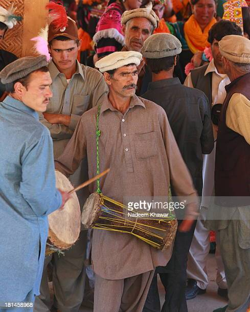 CONTENT] Beating drums and Celebrating Joshi festival Kalash women and men dance and sing their way from the dancing ground to the village arena the...