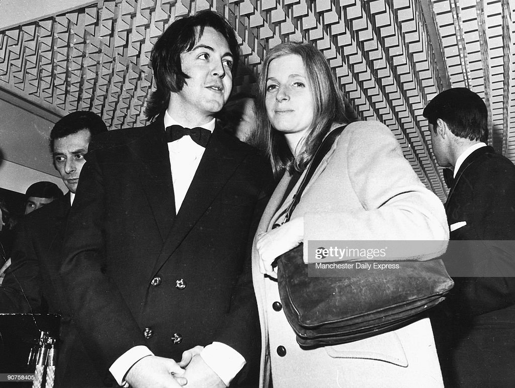 Beatle Paul McCartney With His Bride Linda Eastman Attend Film Premiere Of Isadora