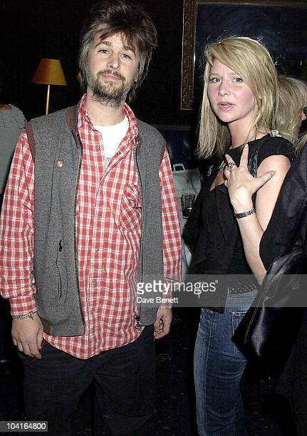 """Beatle Ringo Starr's children Jason Starkey and Lee Starkey at Bill Wyman's Book """"Rolling With The Stones"""" Launch Party At The Cafe De Paris In London"""