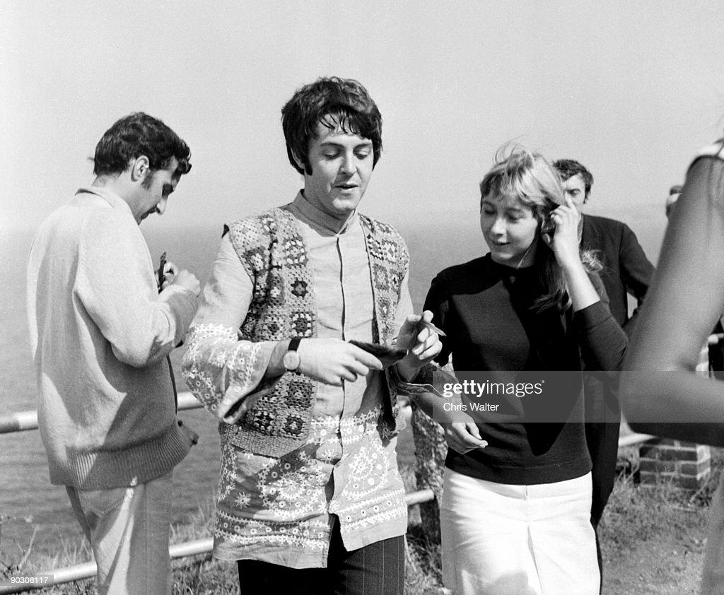 Beatles 1967 Paul McCartney at start of Magical Mystery Tour