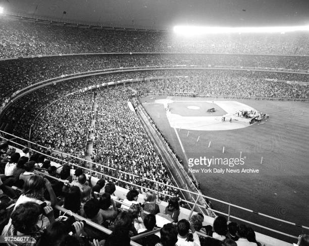 Beatles' concert at Shea Stadium.
