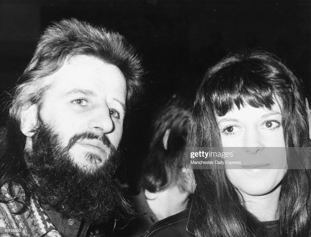 Beatles Drummer Ringo And His Wife Maureen Cox On Their Way To Elizabeth Taylor S