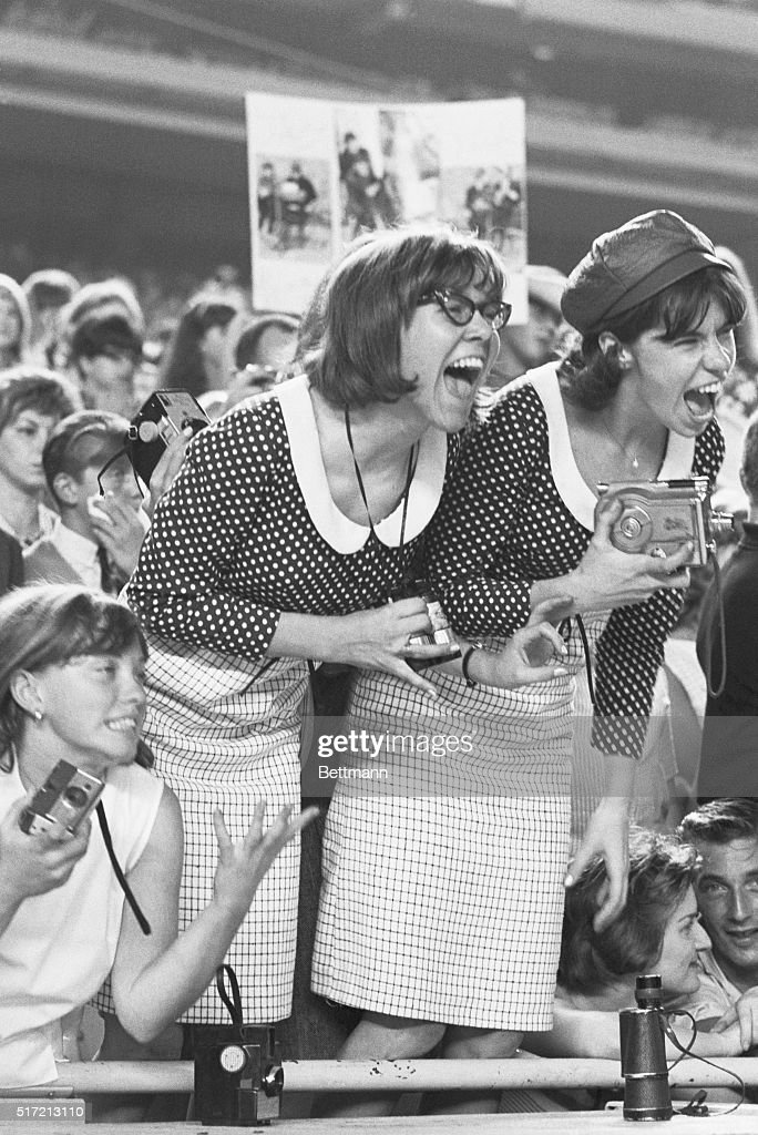 Beatle Fans Screaming : ニュース写真