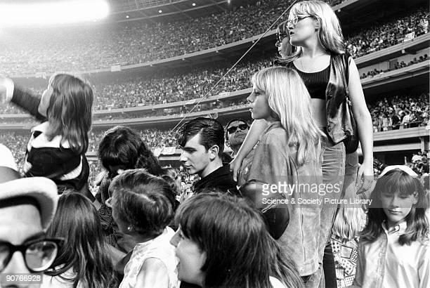 Beatles gig, New York, c 1960s. British born photographer Tony Ray-Jones received an MFA diploma from the Yale University School of Art, Conneticut...