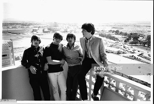 Beatles in America 1964 British pop group The Beatles LR Ringo Starr John Lennon George Harrison Paul McCartney United States 1964