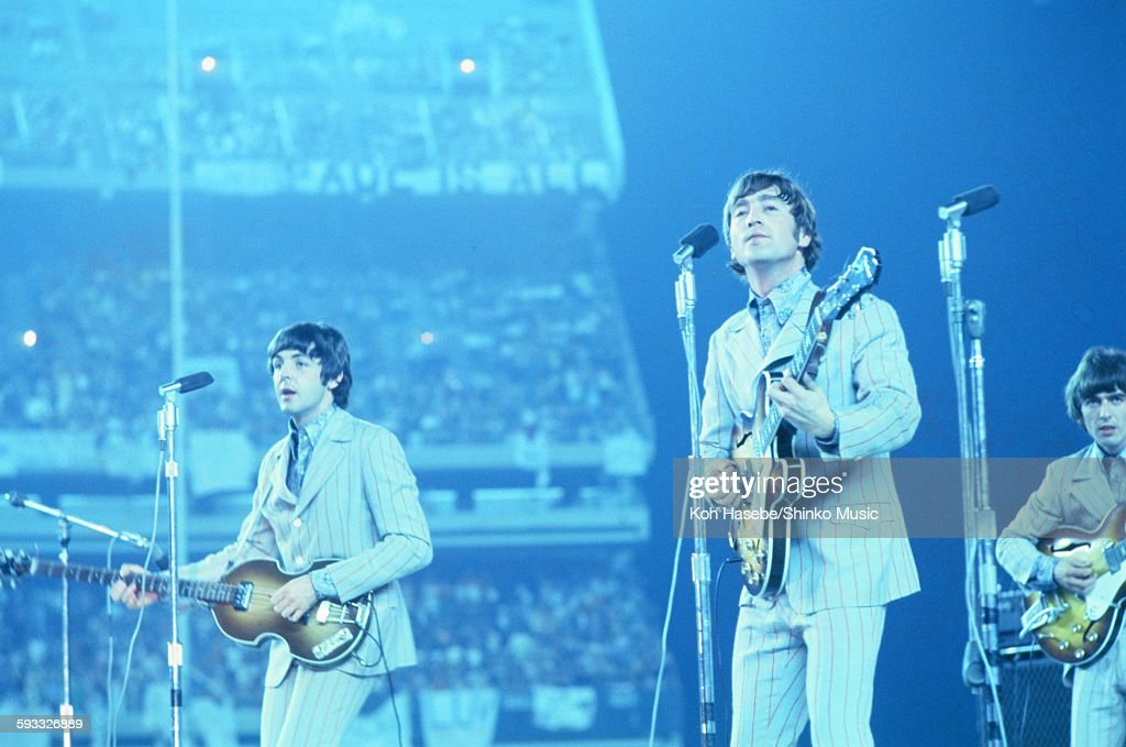 Beatles live at Shea Stadium, NYC, August 23, 1966  News