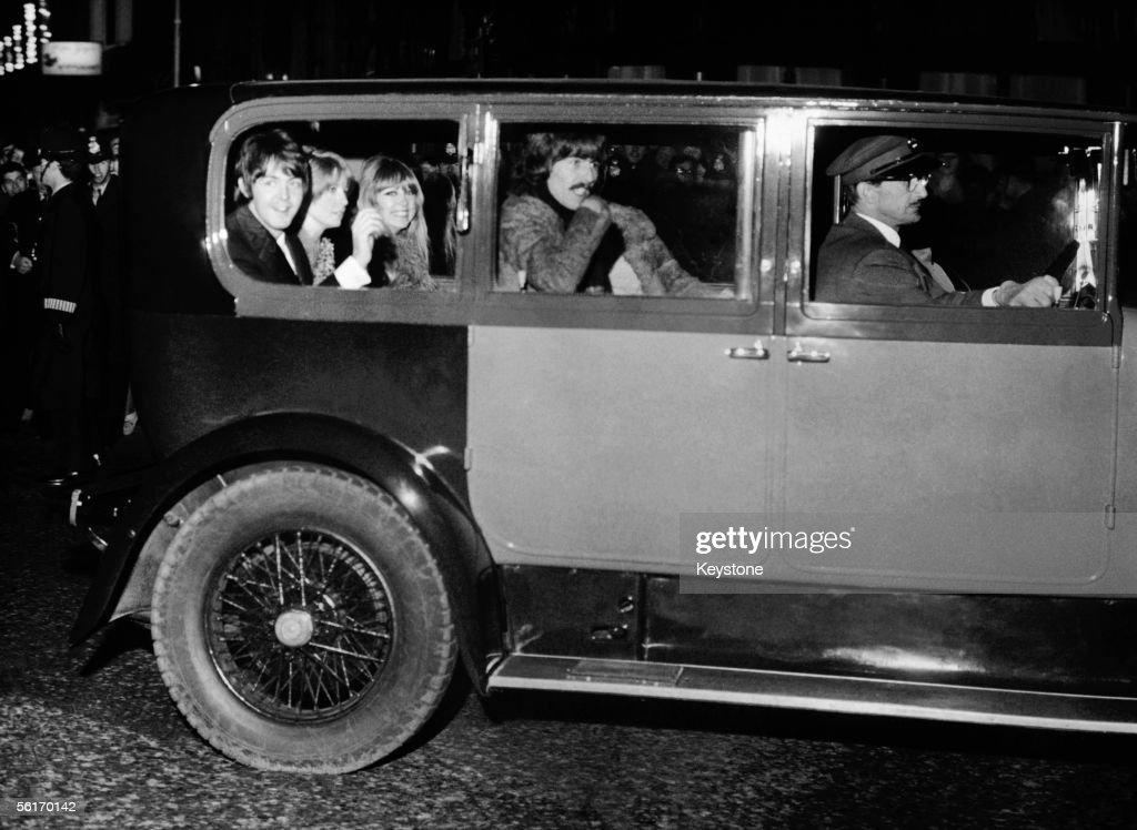 Beatles At Film Premiere : News Photo