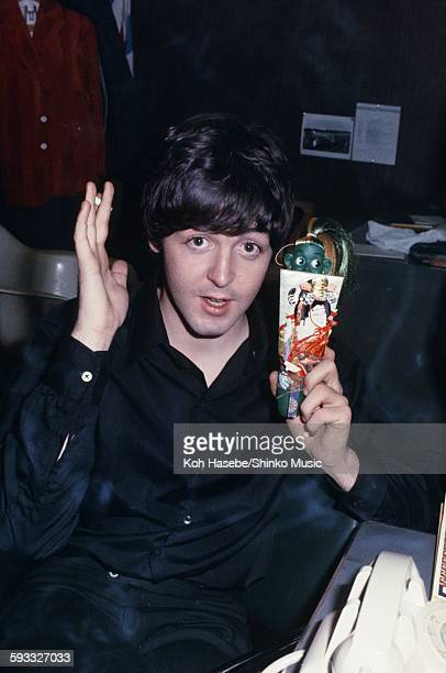 Beatles Paul McCartney at Interview during US tour unknown August 1966