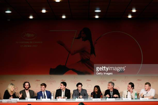 Beatrcie Thomas Wachsberger leads panel with writer director Joshua Safdie Actor Robert Pattinson director Ben Safdie actor Buddy Duress actress...