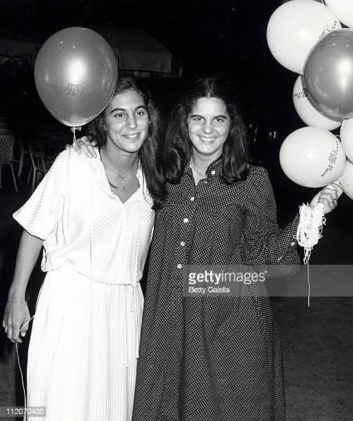 Beatrice Alda and Elizabeth Alda during The Seduction of Joe Tynan New York City Premiere Party at Promenade Cafe Rockefeller Plaza in New York City...