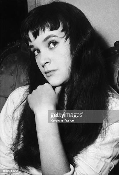 Beatrice Altariba, French Actress. February 1956.