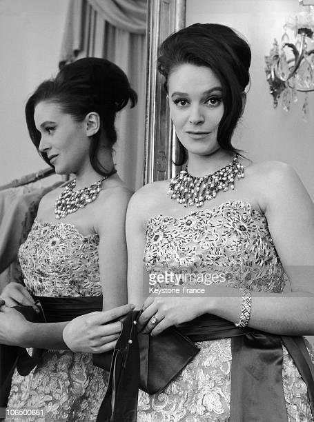 Beatrice Altariba, French Actress. February 1962. Rome.