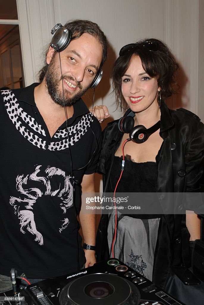 Beatrice Ardisson and 'French Kriss' attend the Vogue Fashion Celebration Night at Christian Dior in Paris.