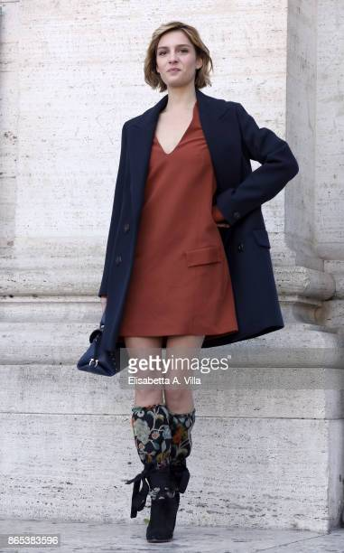 Beatrice Arnera attends 'Non C'e' Campo' photocall on October 23, 2017 in Rome, Italy.