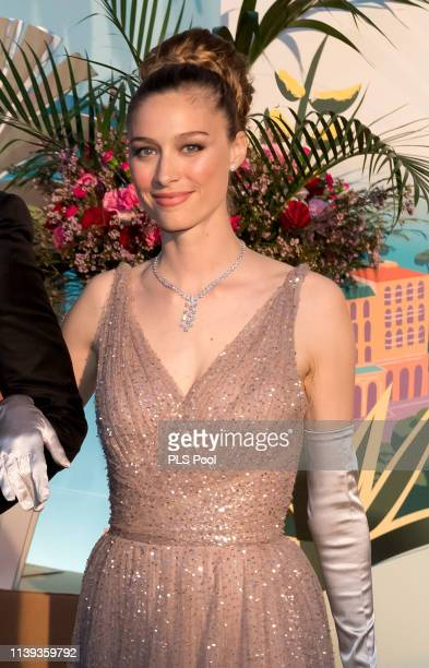 Beatrice Borromeo attends the Rose Ball 2019 to benefit the Princess Grace Foundation on March 30 2019 in Monaco Monaco