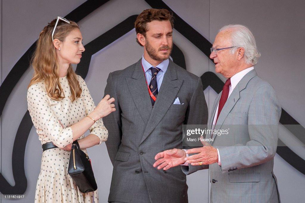 Celebrities At F1 Grand Prix of Monaco : News Photo