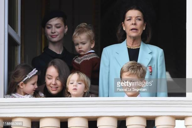 Beatrice BorromeoCasiraghi and son Francesco Casiraghi Princess Caroline of Hanover with children Princess Alexandra of Hanover India Casiraghi...