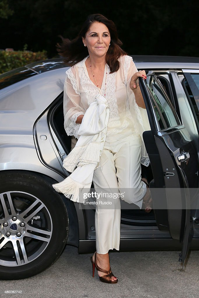 Beatrice Bulgari attends Coulture/Sculpture Vernissage Cocktail honoring Azzedine Alaia in the history of fashion at Galleria Borghese at Galleria Borghese on July 10, 2015 in Rome, Italy.