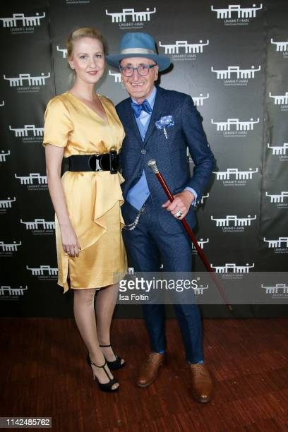 Beatrice Bytzeck and Guenther Krabbenhoeft attend the Umami Opening on May 9 2019 in Berlin Germany