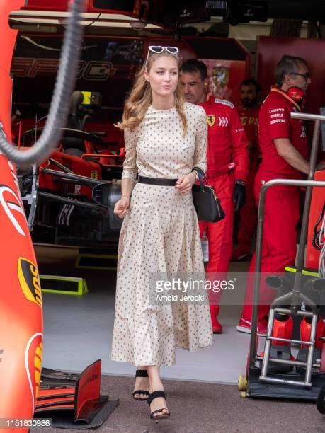 Beatrice Casiraghi attends the F1 Grand Prix of Monaco on May 26, 2019 in Monte-Carlo, Monaco.