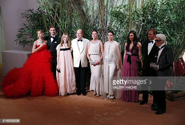 Beatrice Casiraghi Pierre Casiraghi Princess Alexandra of Hanover Prince Albert II of Monaco Princess Caroline of Hanover Charlotte Casiraghi Tatiana...
