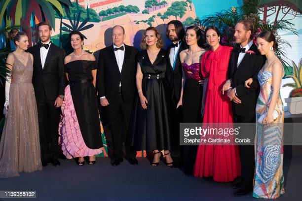 Beatrice Casiraghi Pierre Casiraghi Princess Caroline of Hanover Prince Albert II of Monaco Carole Bouquet Dimitri Rassam Charlotte Casiraghi Tatiana...
