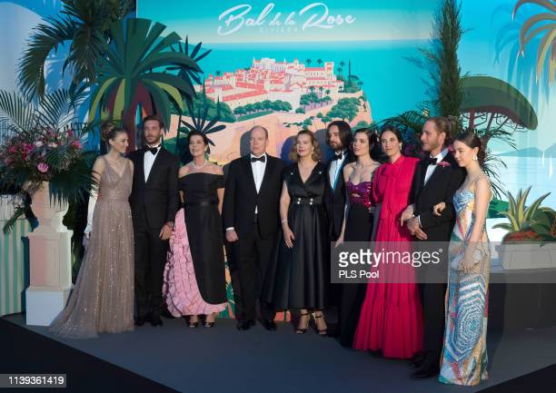 Beatrice Casiraghi Pierre Casiraghi Princess Caroline of Hanover Prince Albert II of Monaco Carole Bouquet Dimitri Rassam Charlotte Casiraghi Tatiana...