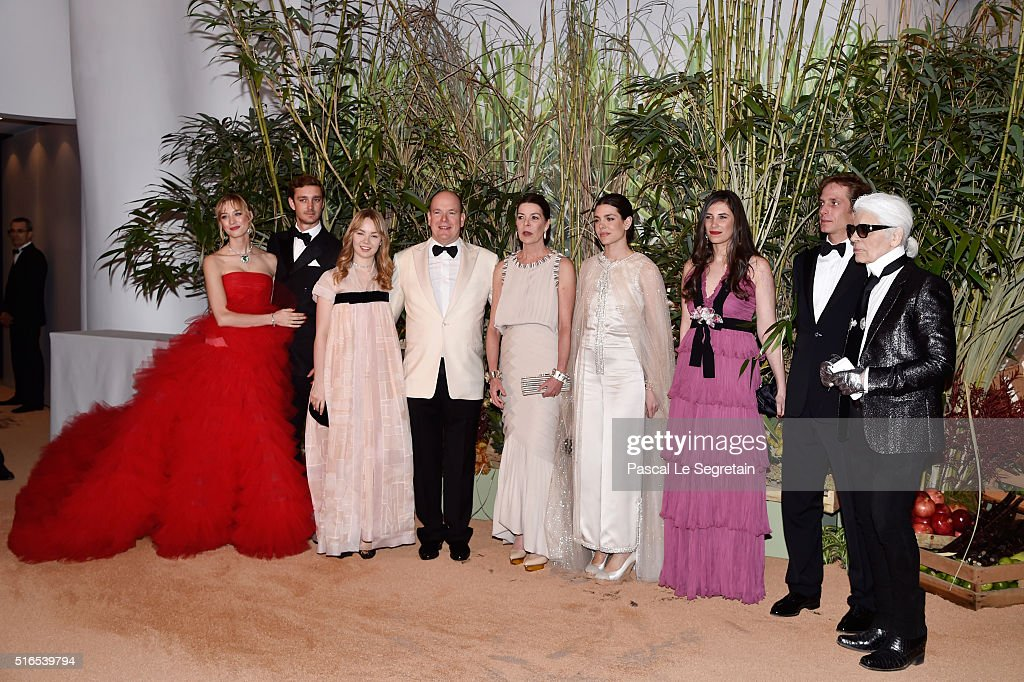 62nd Rose Ball To Benefit The Princess Grace Foundation In Monte-Carlo