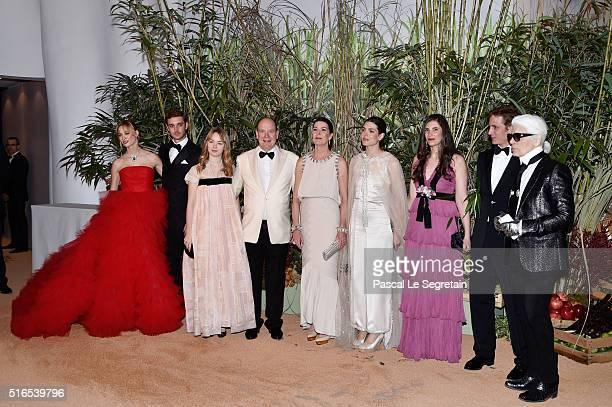 Beatrice CasiraghiPierre CasiraghiPrincess Alexandra of HanoverPrince Albert II of MonacoPrincess Caroline of HanoverCharlotte CasiraghiTatiana...