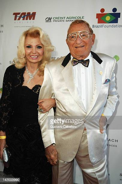 Beatrice Clancy and Sandford Ziff attends Brazil Foundation Gala at W South Beach on March 27 2012 in Miami Beach Florida
