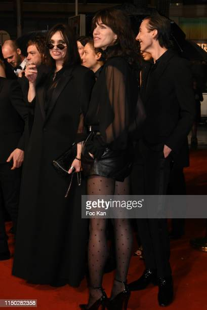 """Beatrice Dalle and Charlotte Gainsbourg attend the screening of """"Lux Aeterna"""" during the 72nd annual Cannes Film Festival on May 18, 2019 in Cannes,..."""