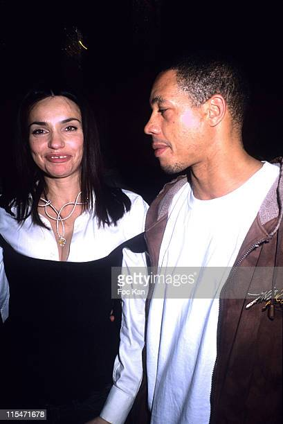 Beatrice Dalle and Joey Starr during Beatrice Dalle Face a l'Objectif book and Champions book Launch at Cafe De L'Homme Musee de L'Homme in Paris...