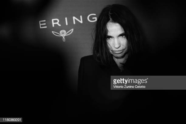 Beatrice Dalle attends Kering And Cannes Film Festival Official Dinner at Place de la Castre on May 19, 2019 in Cannes, France.