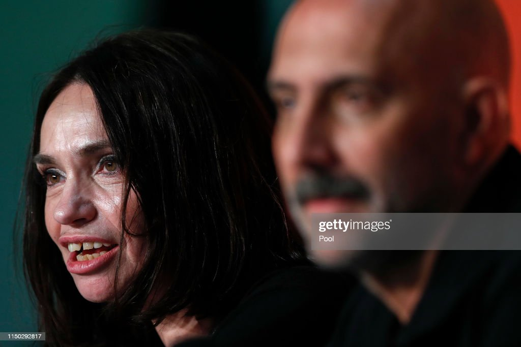 """FRA: """"Lux Aeterna"""" Press Conference - The 72nd Annual Cannes Film Festival"""